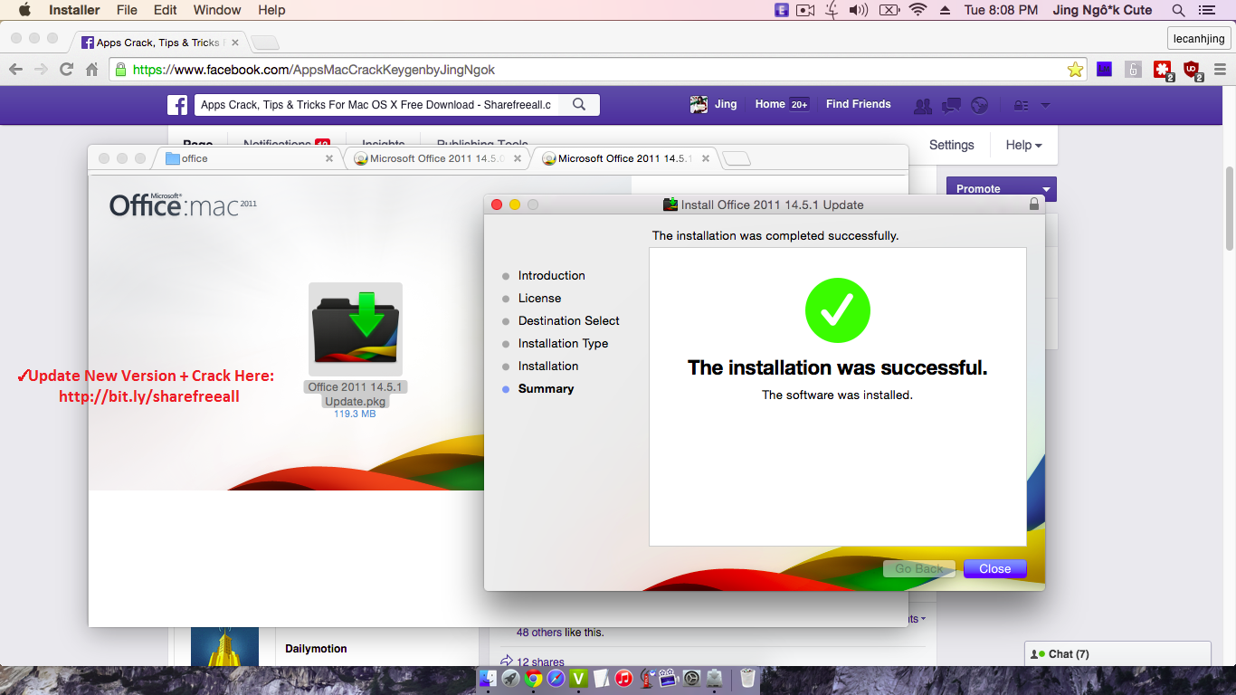 Microsoft Office 2011 14.5.1 SERIAL CRACK KEYGEN FOR MAC OS X YOSEMITE +  Offi.
