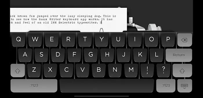 تطبيقات لوحة المفاتيح Ios Hanx Writer