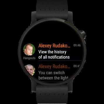 Informer - message center for Wear OS smartwatch
