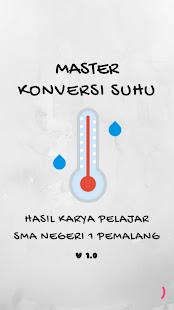Master Konversi Suhu - náhled
