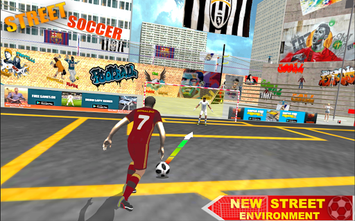 Soccer Football Flick Worldcup Champion League 1.0 screenshots 1
