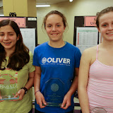 GU 15: Finalist - Alina Maslnad (Lyme Center, NH); Champion - Jesse Brownell (Belmont, MA); 3rd place - Elizabeth Pglione (Wellesley, MA)