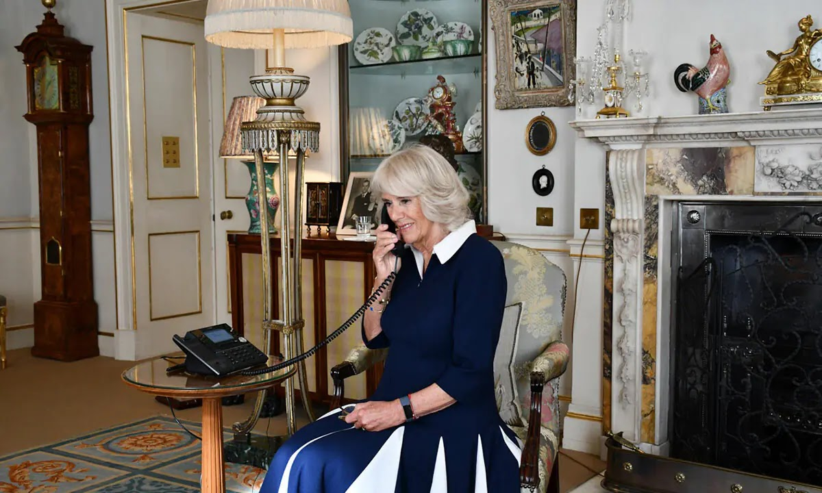 The Duchess of Cornwall reveals her favourite book to read to her Grandchildren