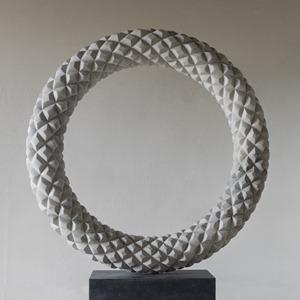 Galvano: CARRARA MARBLE, 2015: W 120cm, H 138 cm, D 18 cm; £18,000