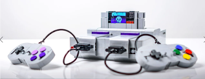 A fan makes a Super Nintendo that can transform into four different transformers