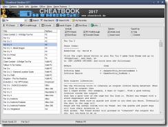 برنامج غش الألعاب CheatBook النسخة الأحدث 12-2017 -3