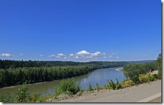 Fraser River along Cariboo Highway, BC