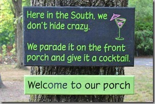 crazy in the south