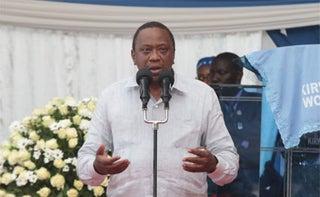 President Kenyatta on Governors over the county revenue. PHOTO   NMG