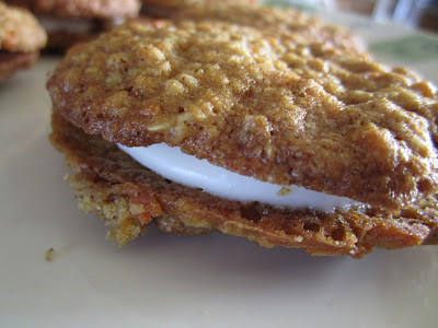 Carrot Cake Cookie Sandwiches Martha Stewart