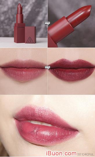 Bộ sưu tập Son lì 3CE Mood Recipe Matte Lip Color của Hàn Quốc + Hình 7