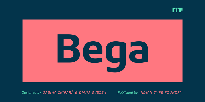 Download Bega Font Family From Indian Type Foundry
