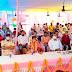 बिहार के माननीय मुख्यमंत्री नीतीश कुमार गया जिला के फल्गु नदी के तट पर विष्णु मंदिर के निकट लगभग ₹266 की लागत रबड़ डैम बनाने के लिए योजना    का शिलान्यास