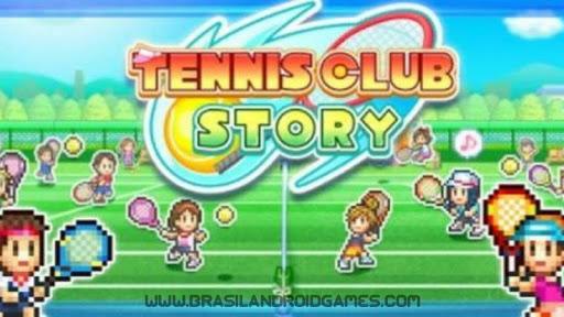 Tennis Club Story Imagem do Jogo