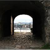 Blick aus der alten Festung zum Hafen