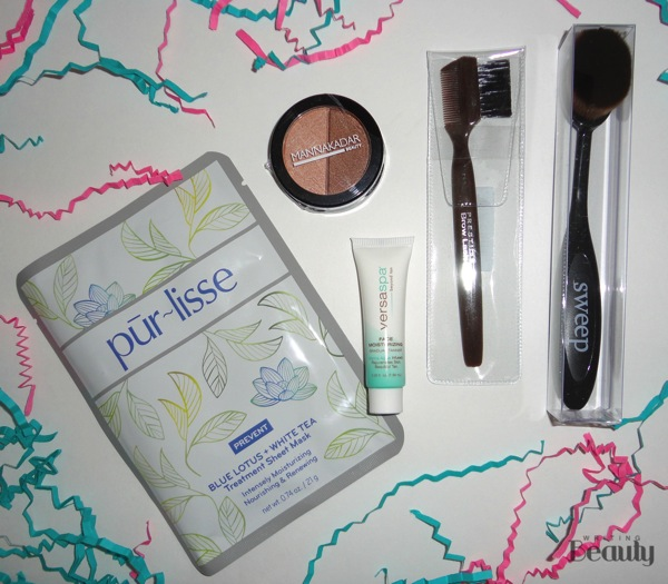June 2016 Beauty Box Five 1
