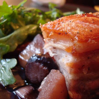 Pork Belly with Red Wine Reduction