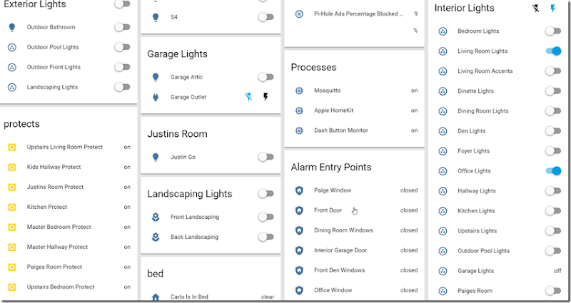 Visualizing the Smart Home  Using Home Assistant, Fire