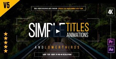 30 títulos animados. Herramienta sencilla y útil