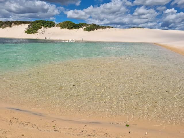 Circuito da Lagoa Azul em Barreirinhas, Lençóis Maranhenses.