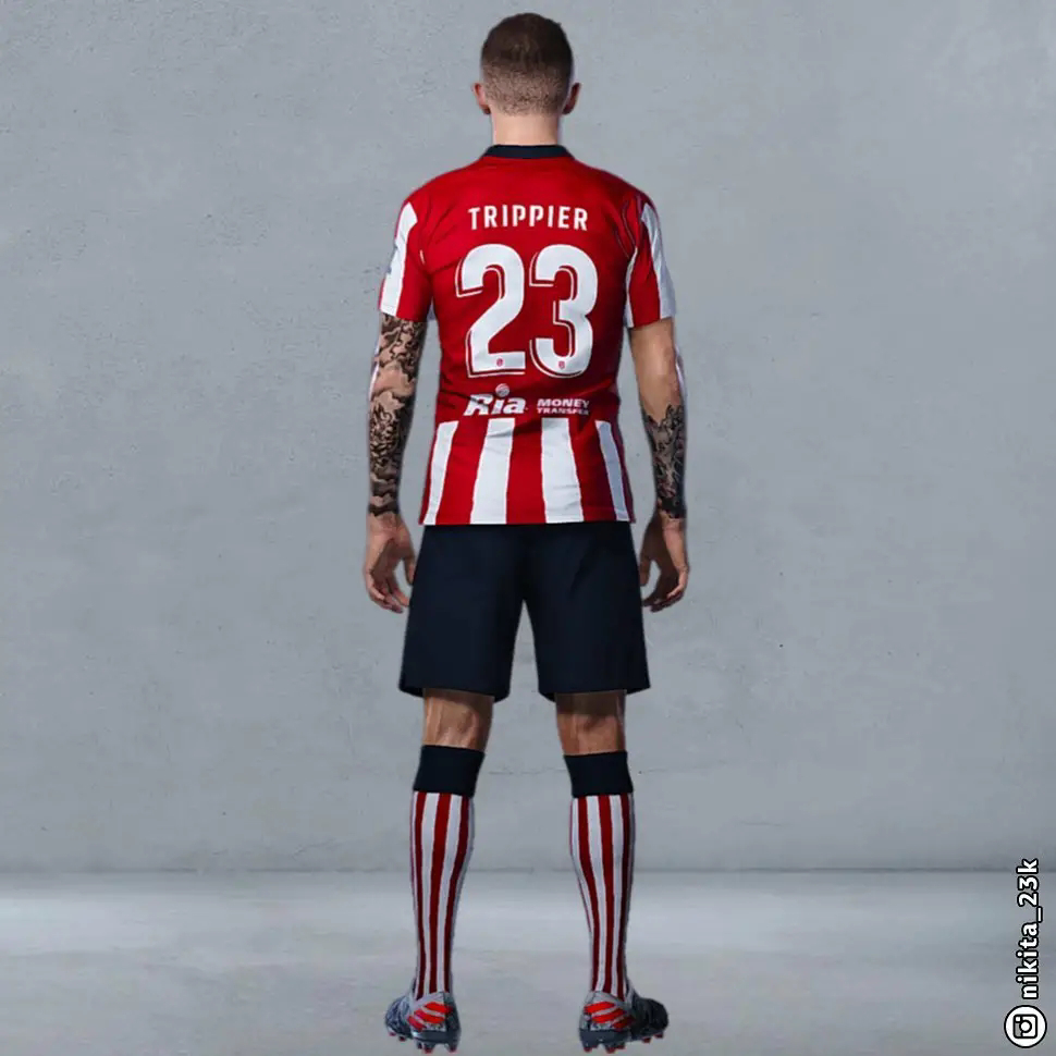Bocoran Jersey Athletico Madrid Home Musim 2020/2021