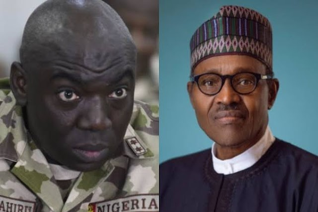 President Buhari Did Not Attend The Funeral Of Chief Of Army Staff, General Ibrahim Attahiru?