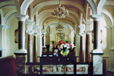 Royal Victoria Hotel St Leonards September 2015 I put the camera on a table to steady it but got it wrong.
