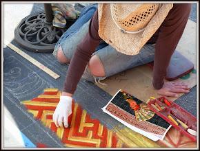 Photo: Sidewalk Artist, Santa Barbara CA