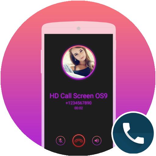 Call Screen Theme Neon