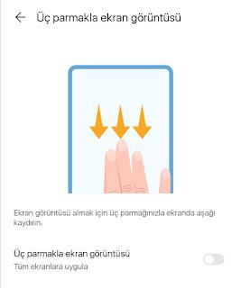 Huawei Ekran Görüntüsü nasıl alınır?