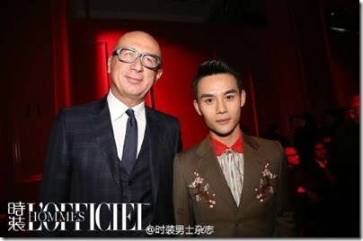 2016.01.18 Wang Kai X Milan Fashion Week AF16 X GUCCI 王凱 2016秋冬男裝週 07