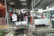 Anggota Koramil 09/ Ulee Kareng Laksanakan Patroli Prokes