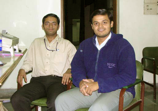 Technical Support - Dileep Khandelwal & Nayan Desai