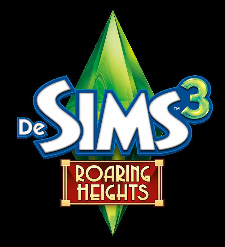 De Sims 3 Roaring Heights logo