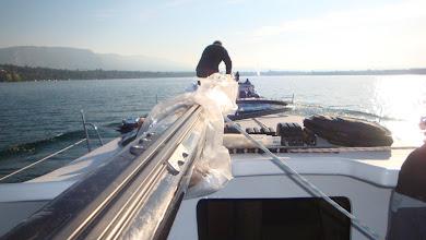 Photo: Le jet d'eau en vue