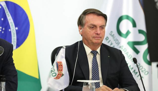 """No G20, Bolsonaro cita ataques contra Brasil por """"nações menos competitivas"""""""