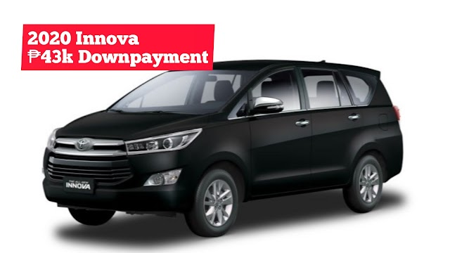 2020 Toyota INNOVA AUV Low Downpayment Installment Promos | Toyota Batangas City