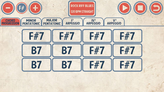 Blues Guitar Jam Tracks- screenshot thumbnail