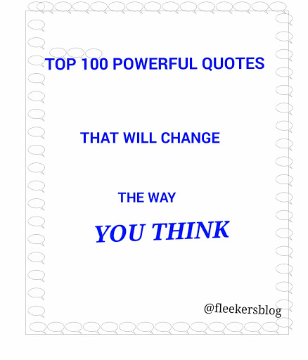 Top powerful and inspirational quotes