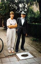 Photo: Jans Speelman en zijn dochter Hilly