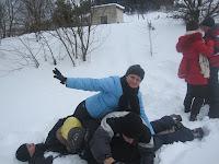 Фоторепортаж с тренинга по ньяса-йоге 12-18 февраля 2012г в Карпатах.792