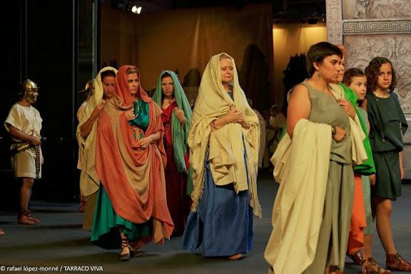 FUNUS AUGUSTI.El funeral de l'emperador. Recreació històrica. TARRACO VIVA, el festival romà de Tarragona. XVIa ed. Tarragona, Tarragonès, Tarragona