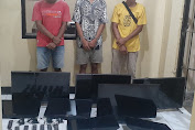 Mencuri dan Menadah, Pelaku Di Gelandang Ke Mapolres Lombok