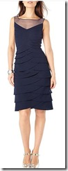 Phase Eight Navy layered Dress