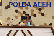 Kapolda Aceh Ikut Rapat Secara Virtual Bersama Forkopimda Aceh Bahas Insentif Nakes