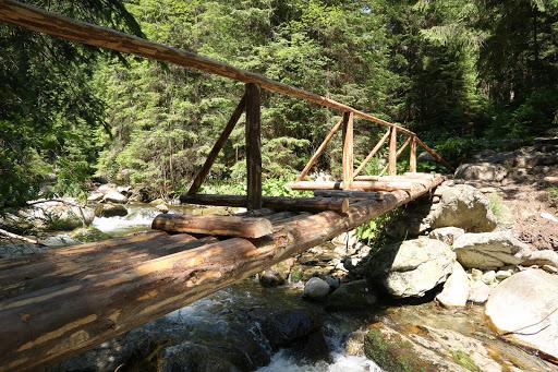 Nový most na konci Jaloveckej doliny