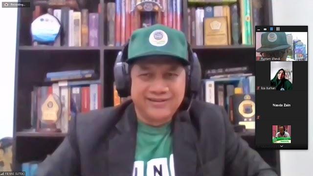 Prof. Suteki: RUU Omnibus Law, Wujud Ketidakadilan Penguasa dan Ketamakan Oligarki