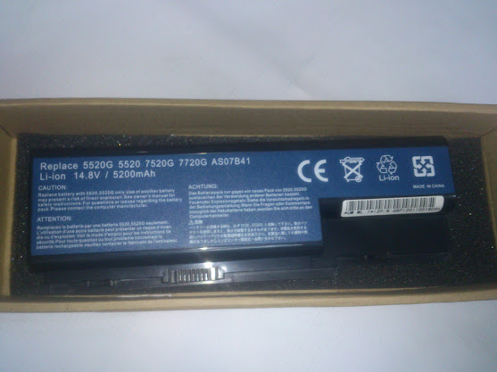 Battery bateri for Acer Aspire 5920 5920G 5921 5921G 5930