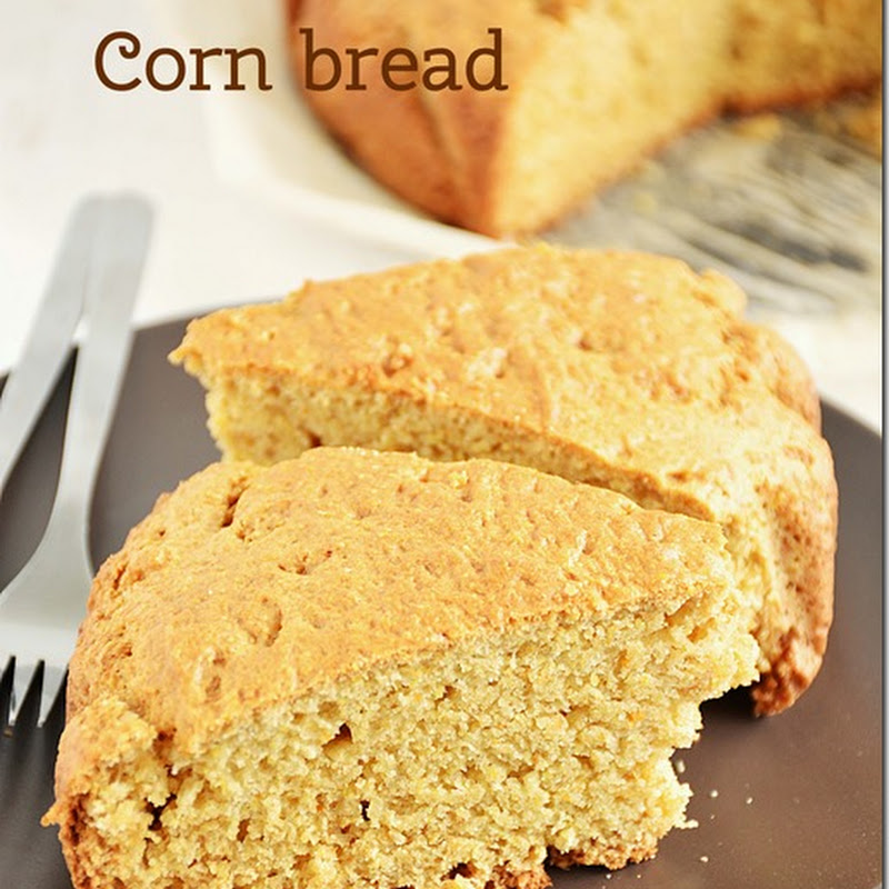 Corn bread / Sweet corn bread/ Cornmeal bread