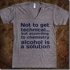 alcohol is solution
